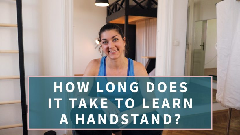 learn a handstand