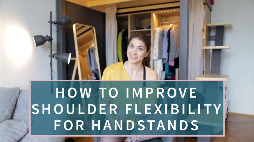 handstand shoulder line