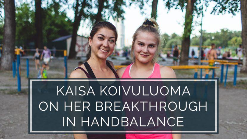 Kaisa Koivuluoma Handbalance
