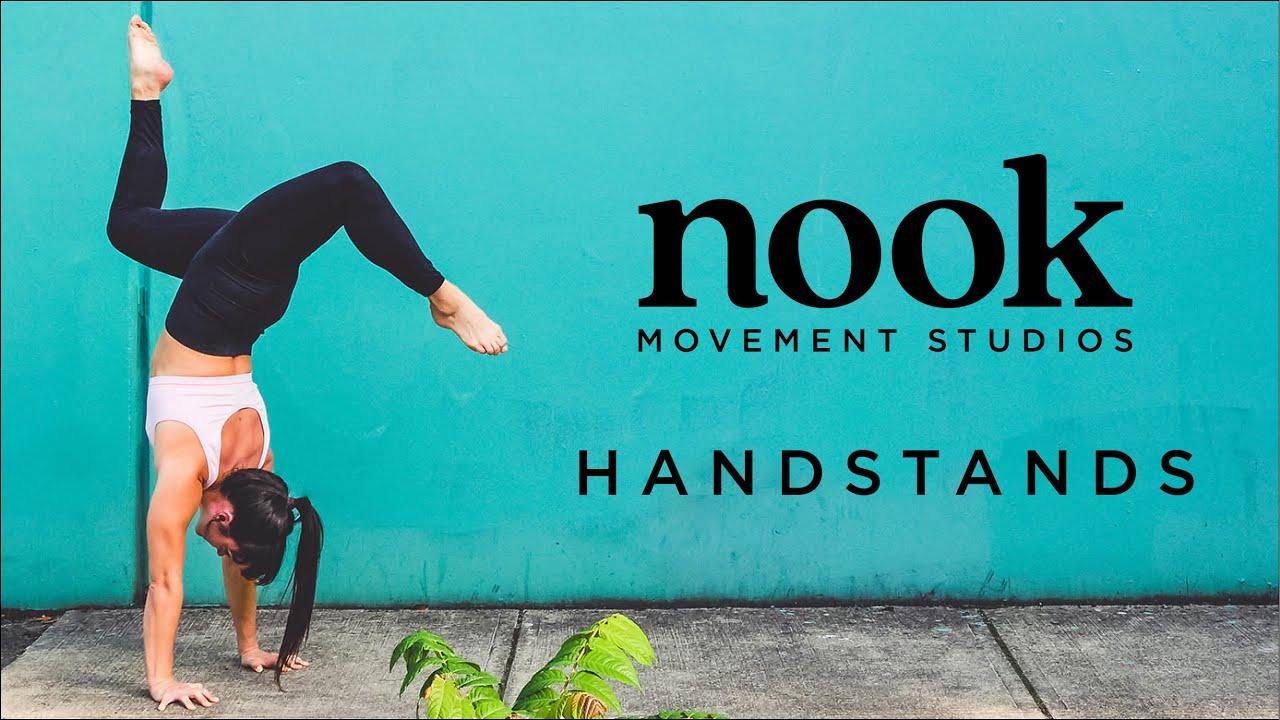 handstand follow along class